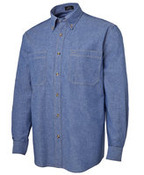 JB's L/S Cotton Chambray Shirt