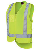 Hi Vis Zip Drop Tail (D+N) Vest