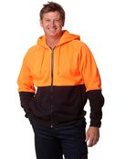 High Visibility 2 Tone Fleece Hoodie