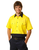 Hi-Vis Short Sleeve Safety Shirt